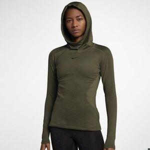 NWT Nike Pro Hyperwarm hoodie